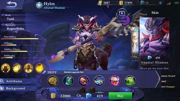 Hyloss B26e0