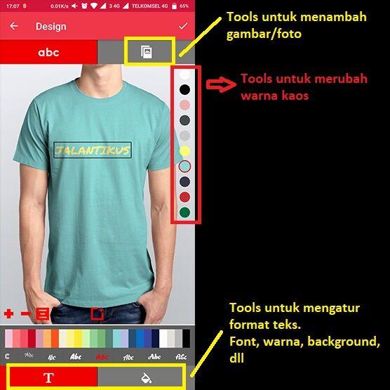 Cara Desain Baju Kaos Distro Di Hp 3 98f97