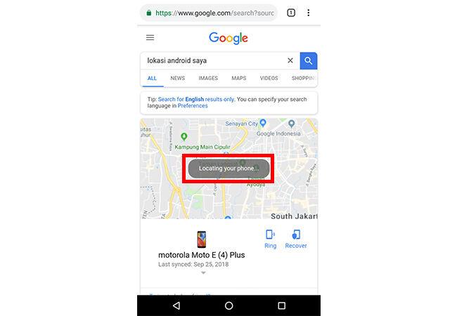 Lokasi Android 2 3 C3307