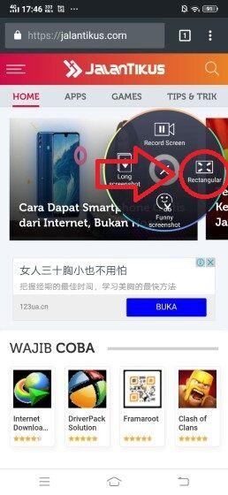 Cara Screenshot Vivo 41 06c0b