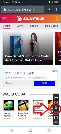 Cara Screenshot Vivo 5 81b72
