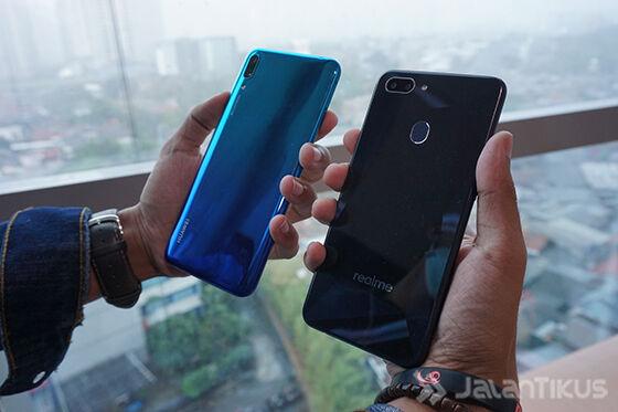 Huawei Y7 Pro 2019 Vs Realme 2 3815b