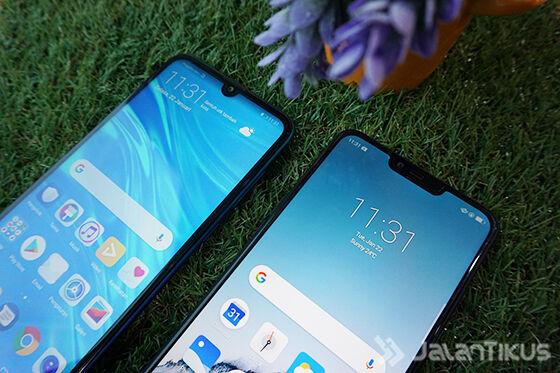 Perbandingan Layar Huawei Vs Realme 02 8cdd3