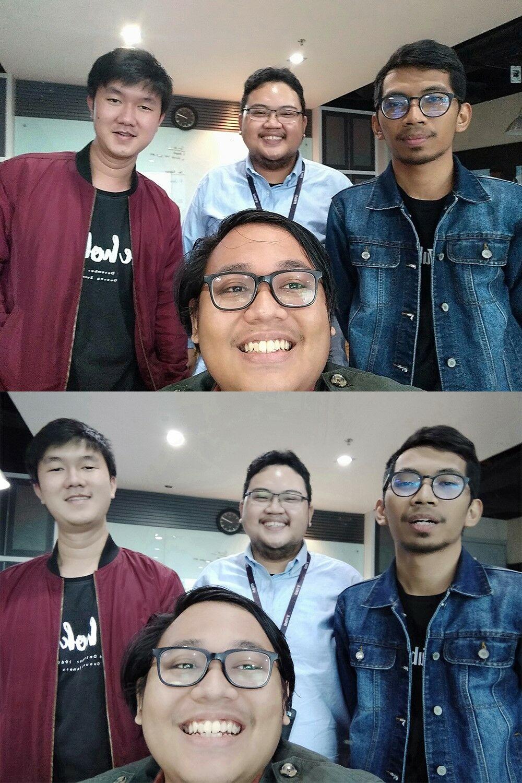 Perbandingan Selfie Huawei Vs Realme 01 B8b56