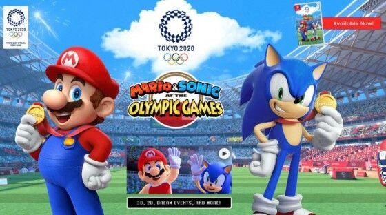 Mario Sonic 5ea1c
