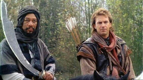 Morgan Freeman Robin Hood Prince Of Thieves 1991 0e83a
