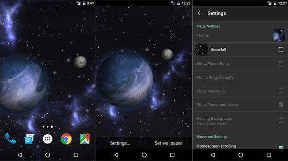 Aplikasi Wallpaper Bergerak Android Gyrospace E844f