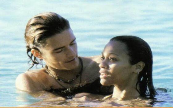 Aktor Yang Benci Ciuman Dengan Lawan Mainnya Orlando Bloom Dan Zoe Saldana E12cc