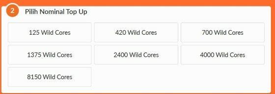 Top Up Lol Wild Rift Mobile Fb95c