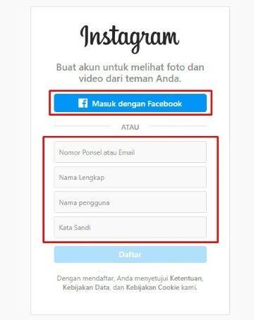 Cara Daftar Instagram Baru 1f6c1