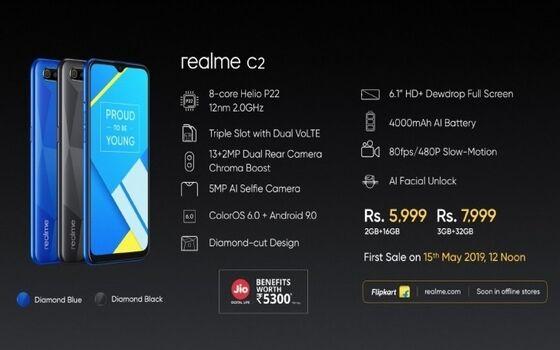 Kelebihan Dan Kekurangan Realme C2 Spesifikasi 87ac3