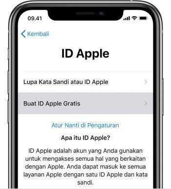 Create Apple Id 2fd34