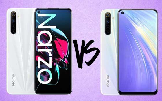 Realme Narzo Vs Realme 6 Spesifikasi F54e6