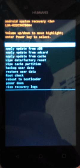 Cara Mengatasi Hp Huawei Error 2a3e2