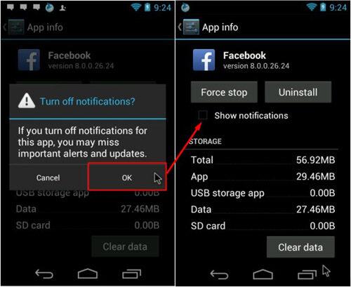 Hilangkan Notifikasi Di Android 3
