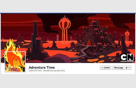 Facebook_cover Adventure_time