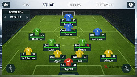 Review FIFA 14 For Android 7