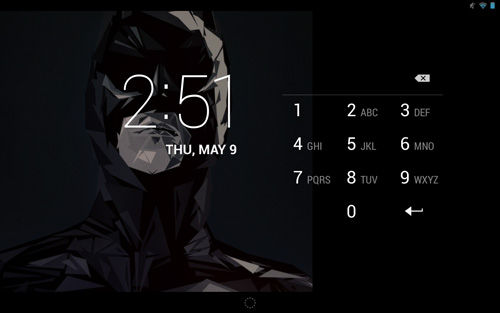 Keamanan Android Lock Screen
