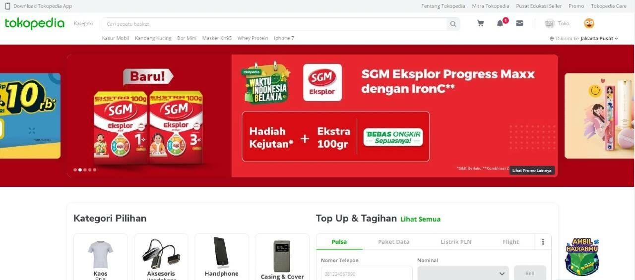Home Tokopedia 8f808