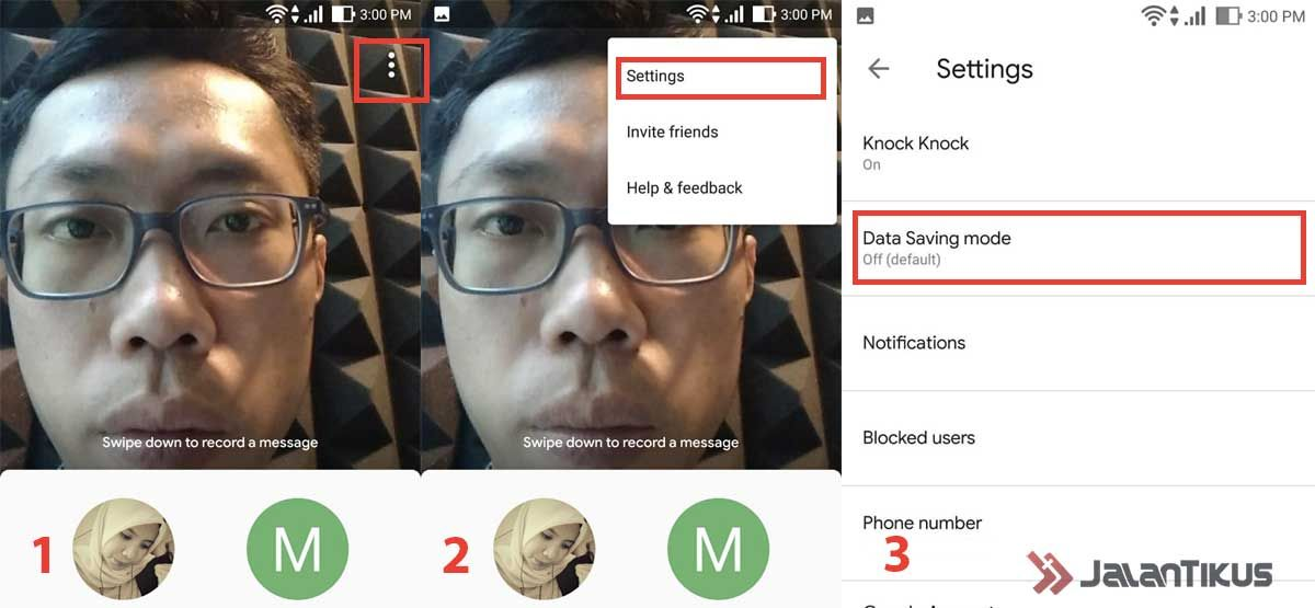 Cara Video Call Lancar Dengan Data Saving Mode Google Duo 4b47d