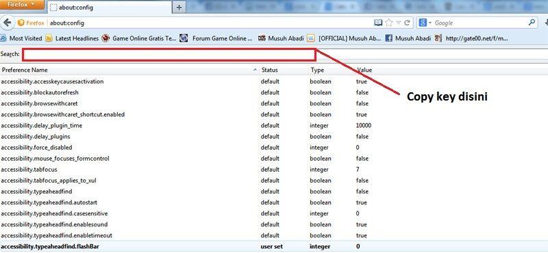 Cara Mempercepat Loading Firefox 2