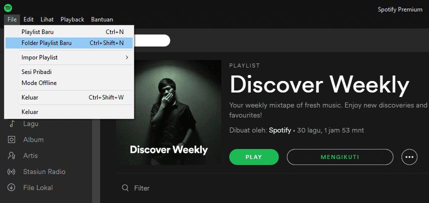 Spotify5waysplaylistfolder