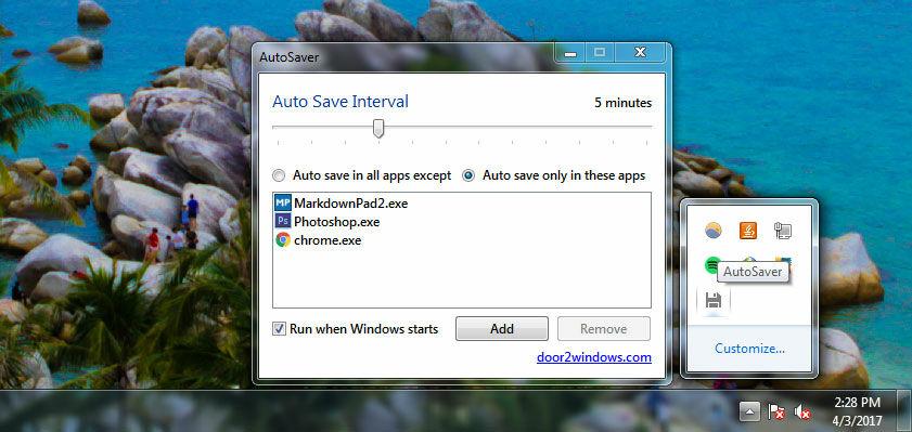 Download Software Autosaver