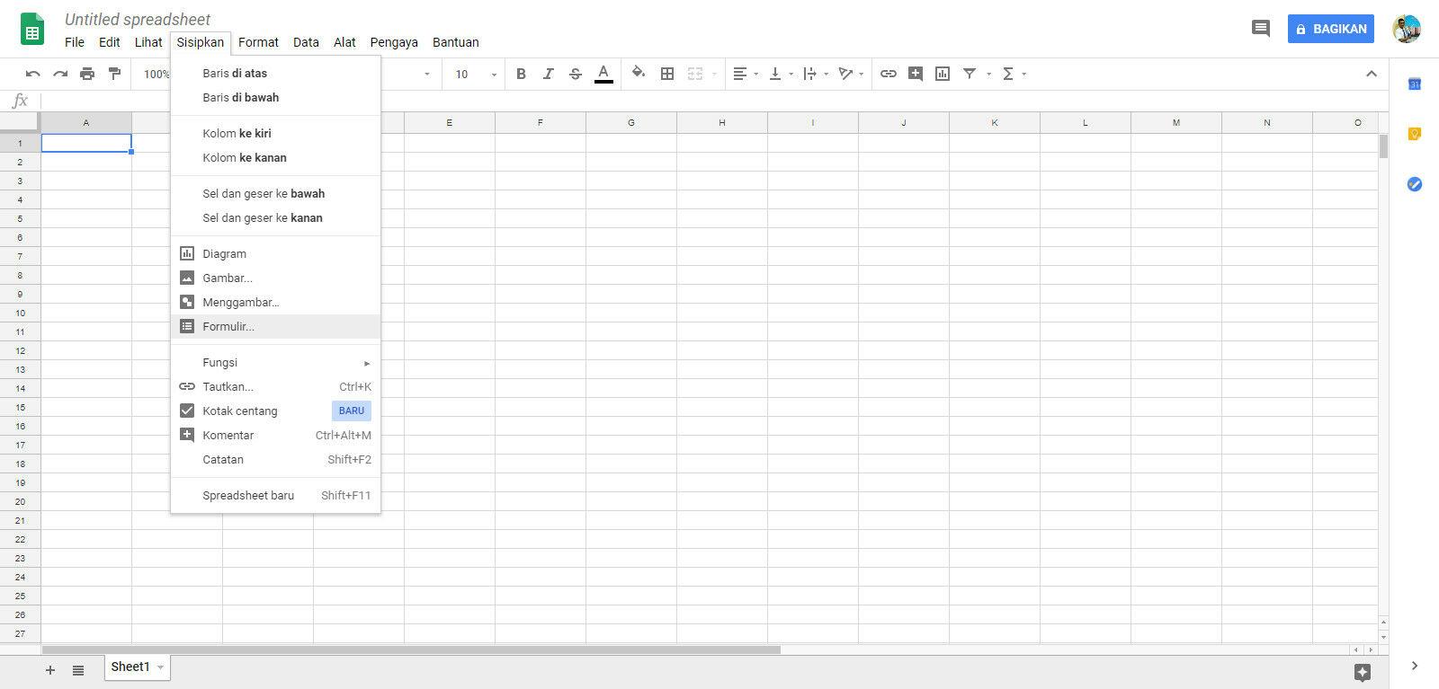 Cara Membuat Google Form 7 A8349