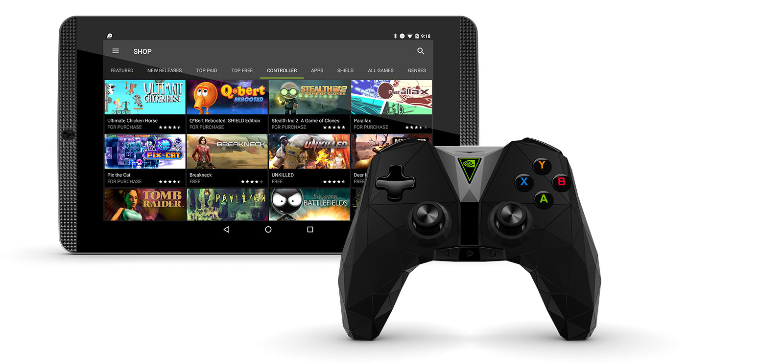 New Shield Tablet K1 Controller Update