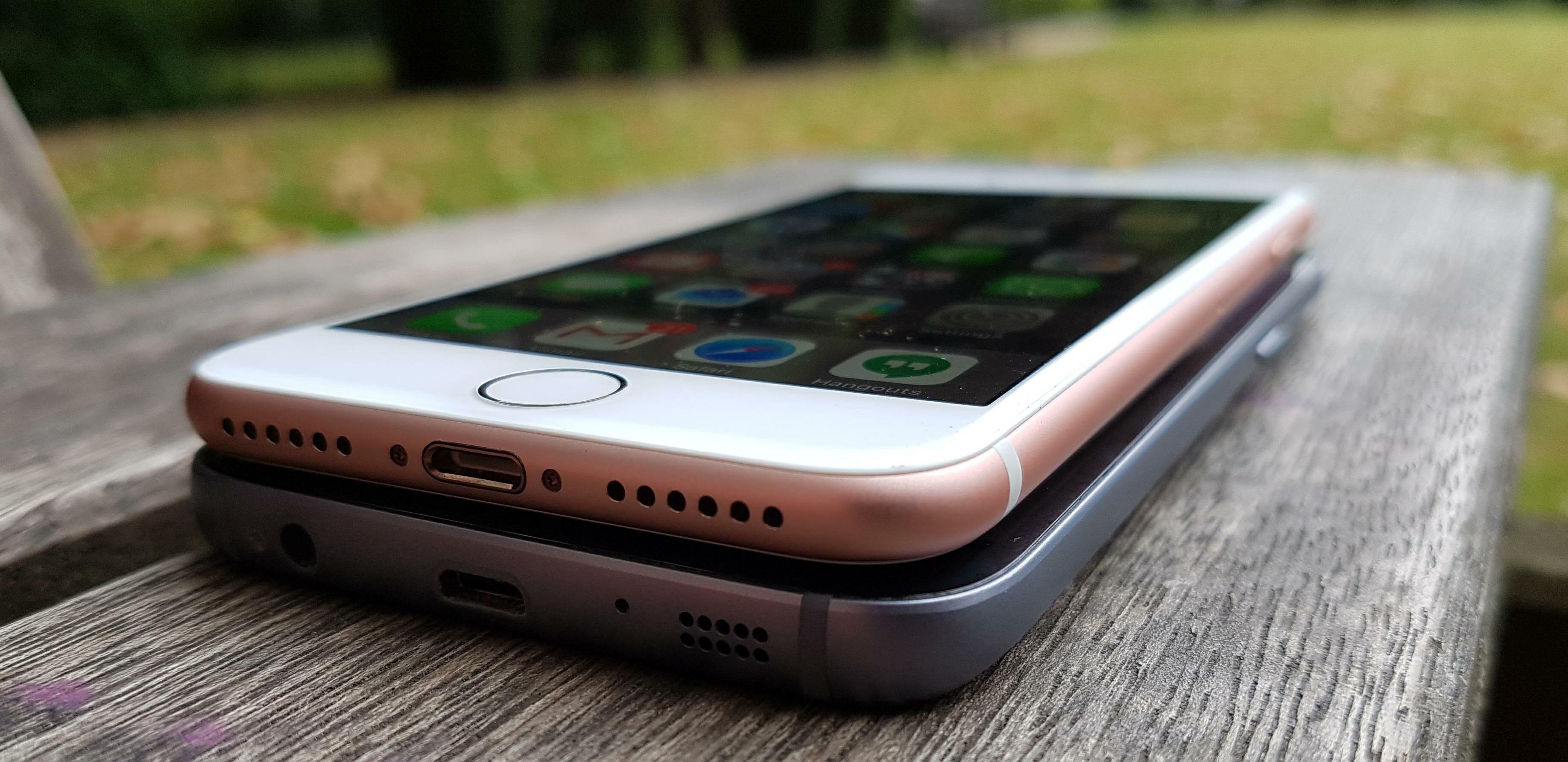 Perbedaan Fisik Iphone 6 6s 7 8 4