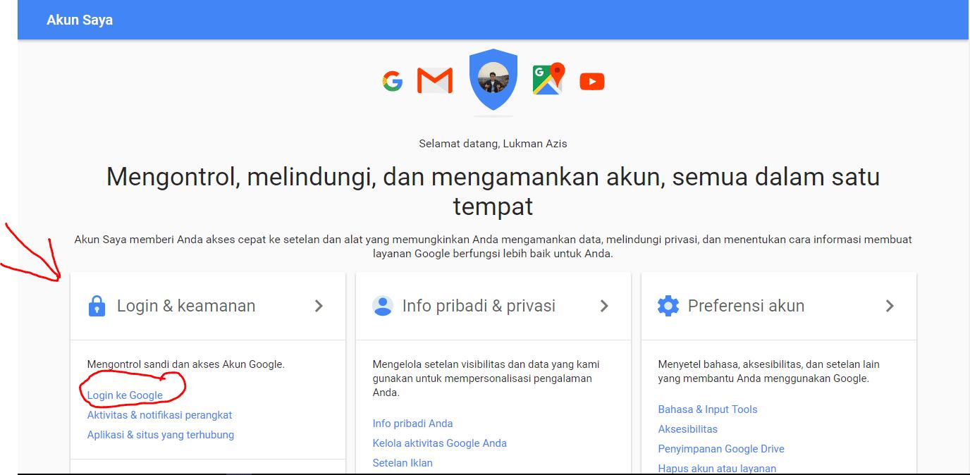 Login Ke Akun Google 1