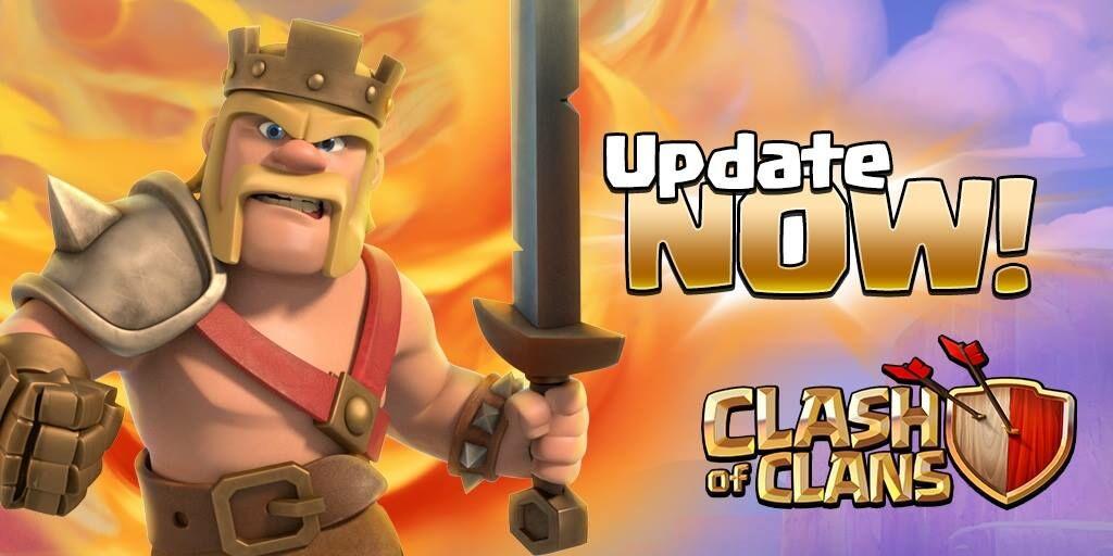 Update Clash Of Clans Oktober 2016 2