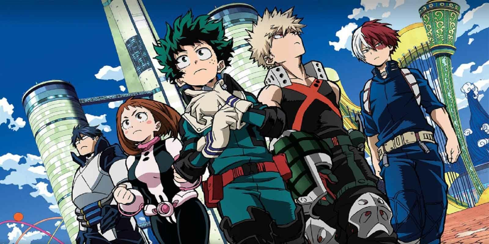 Anime Zero To Hero BNHA 0e82b