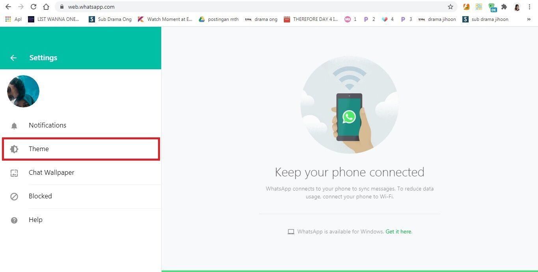 Whatsapp Web Dark Mode F00f1