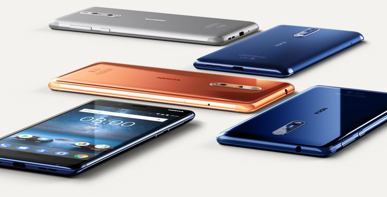 Smartphone Kecil Terbaik Nokia 8