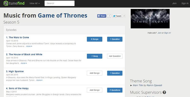 Temukan Lagu Dan Soundtrack Film Di Browser