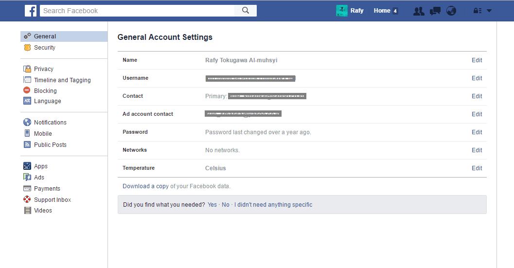 Tanda Akun Facebook Dihack Dan Cara Mengatasinya 8