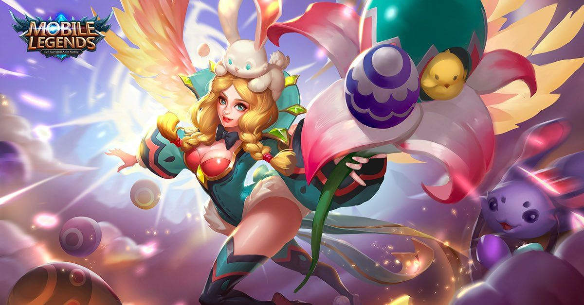 Wallpaper Mobile Legends Rafaela Flower Fairy