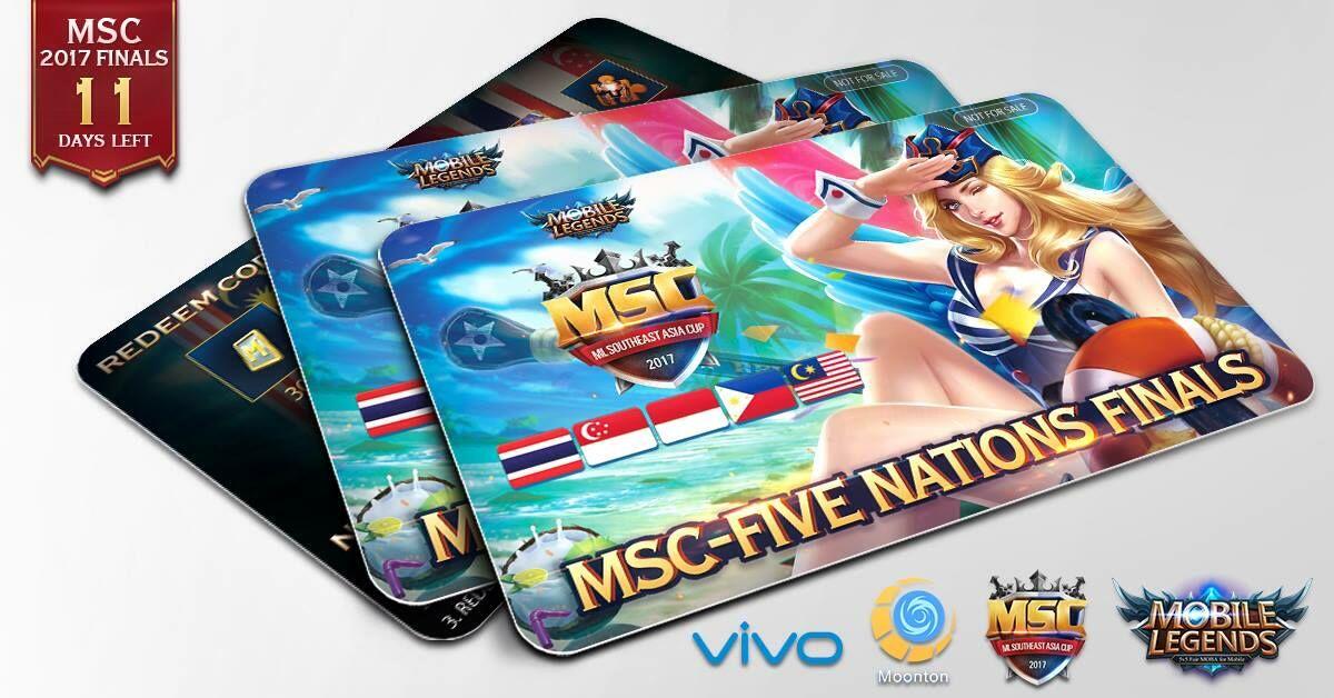 Final Turnamen Mobile Legends Msc2017 3