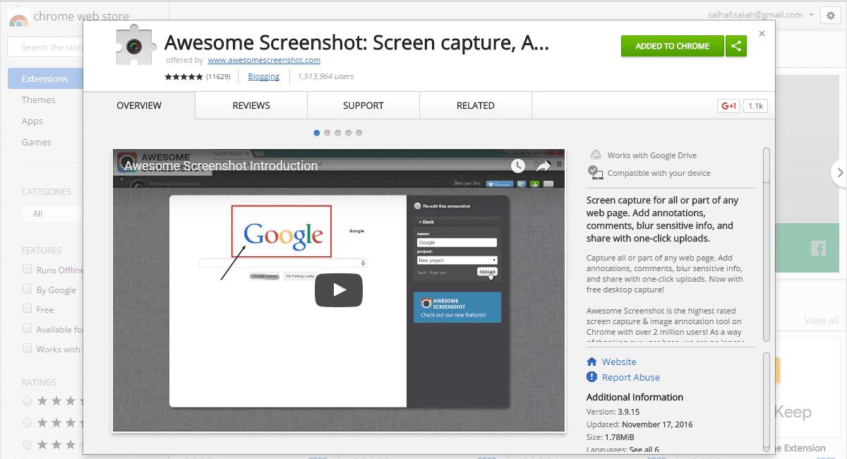 Cara Screenshot Panjang Halaman Web Di Komputer 6