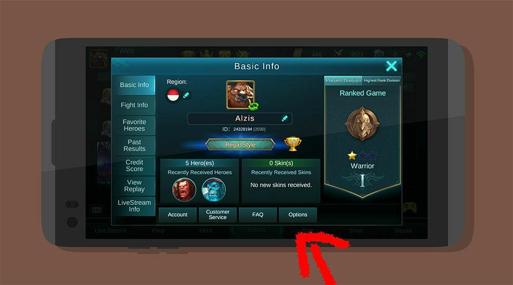 Cara Main Mobile Legends Tanpa Patah Patah 2