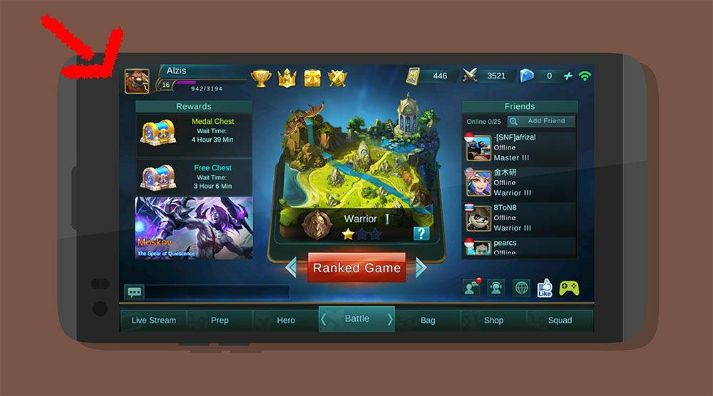 Cara Main Mobile Legends Tanpa Patah Patah