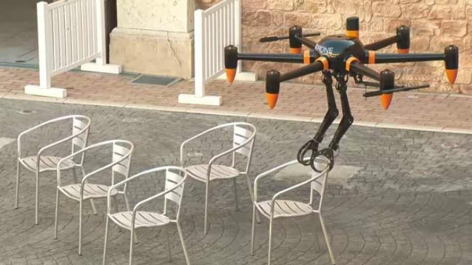 Drone Jepang Berlengan