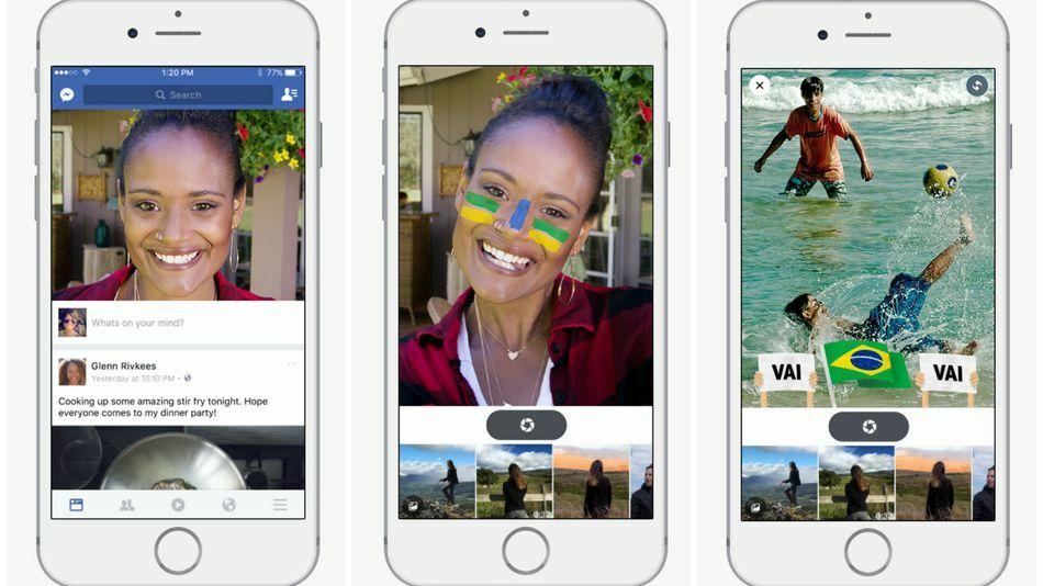 Kamera Facebook Seperti Snapchat 2