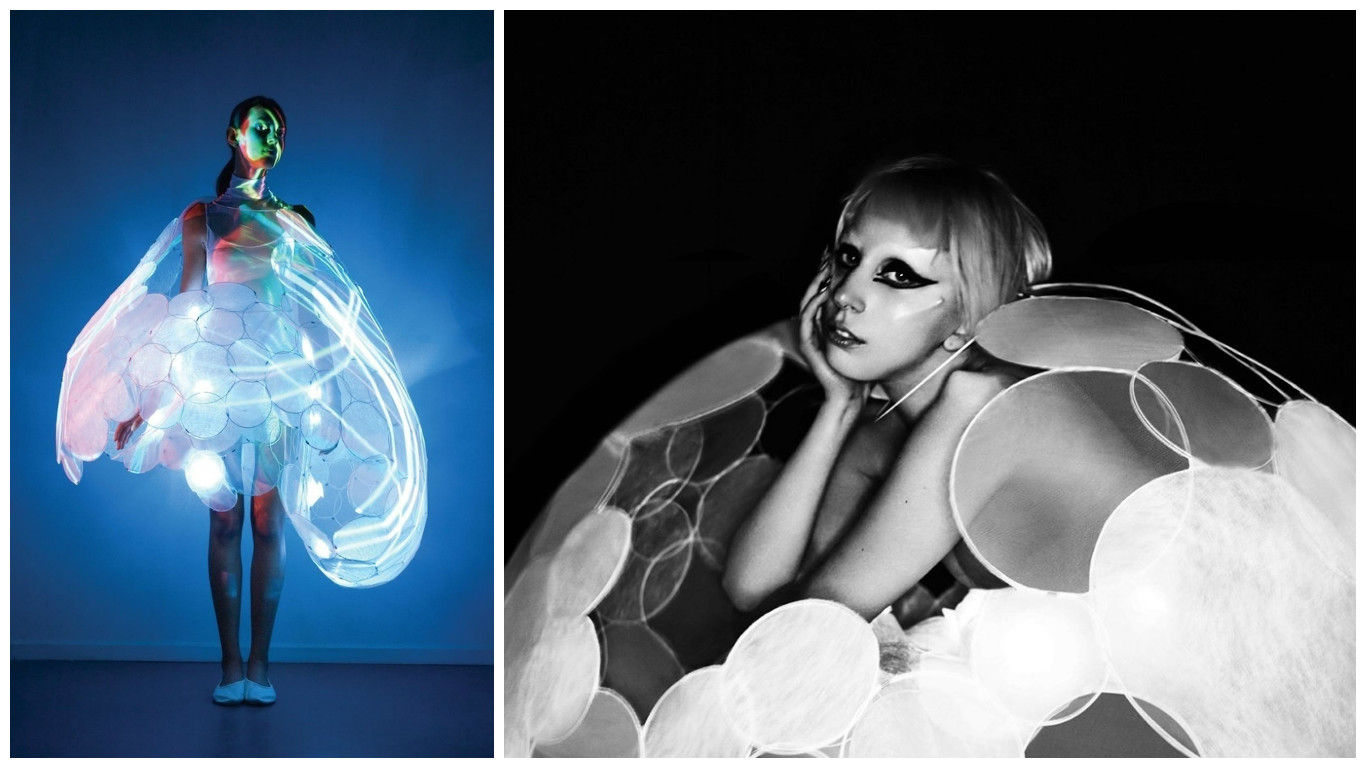 Kostum Canggih Lady Gaga 1