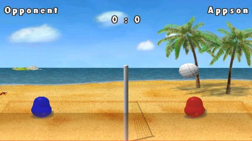 Game Bola Voli Android 4