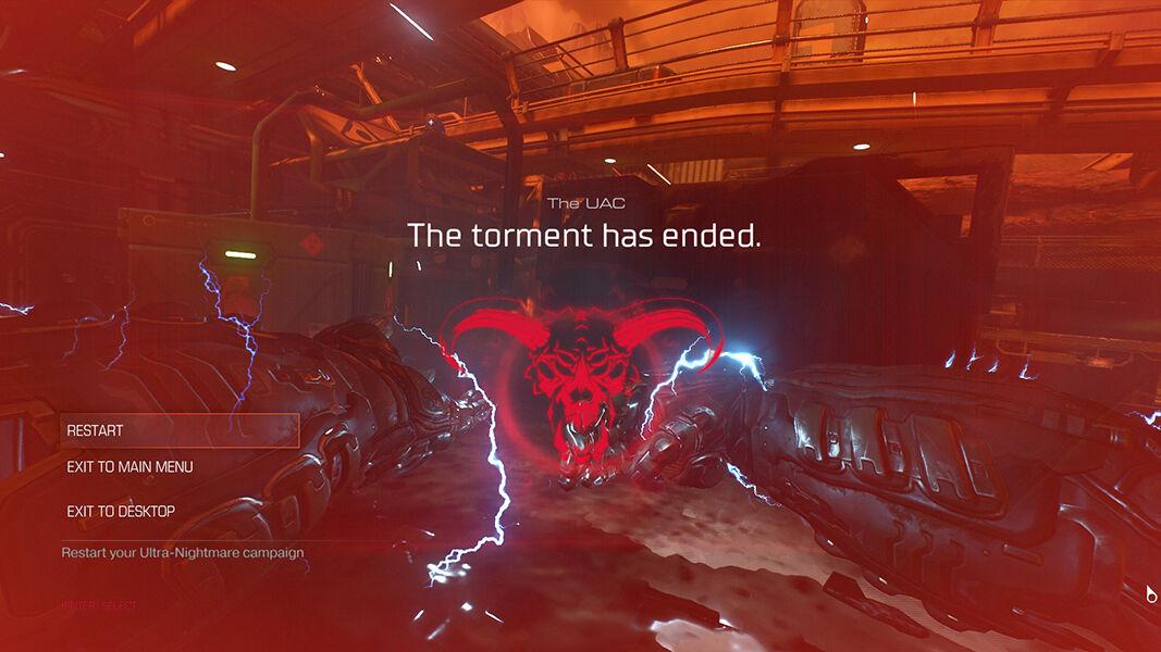 Doom Ultranightmare 73c0f