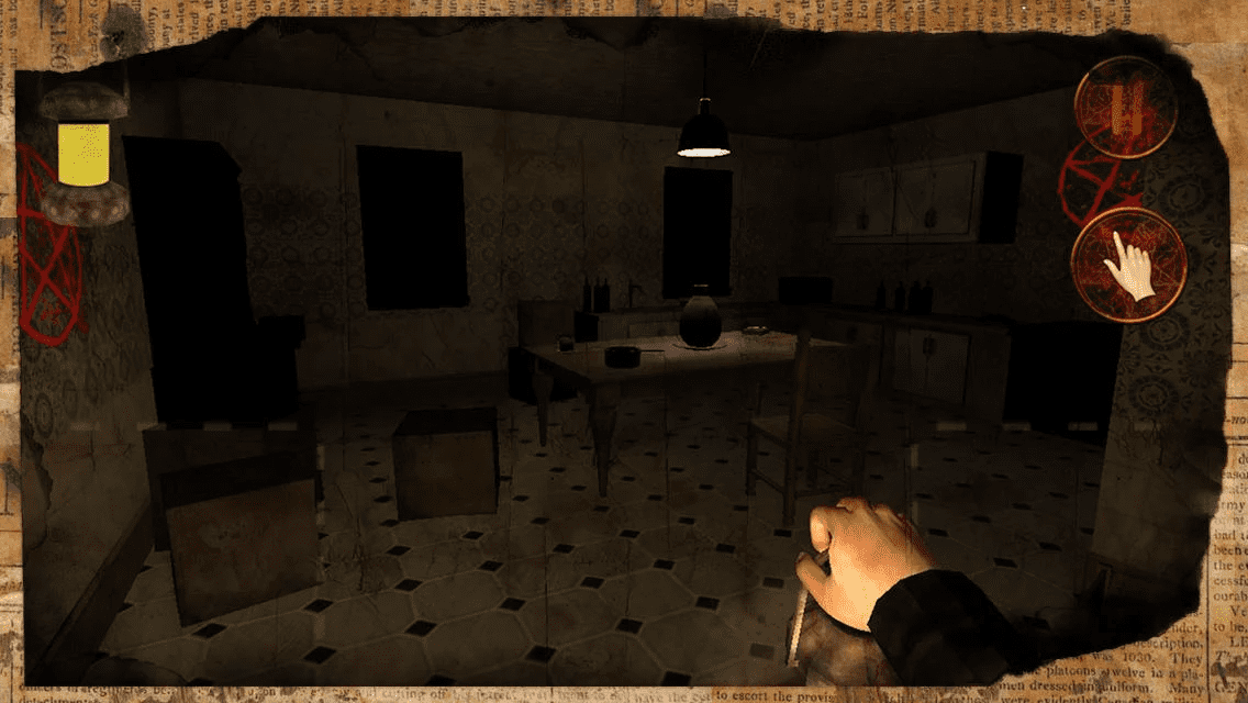 The Silent Dark Game Horror