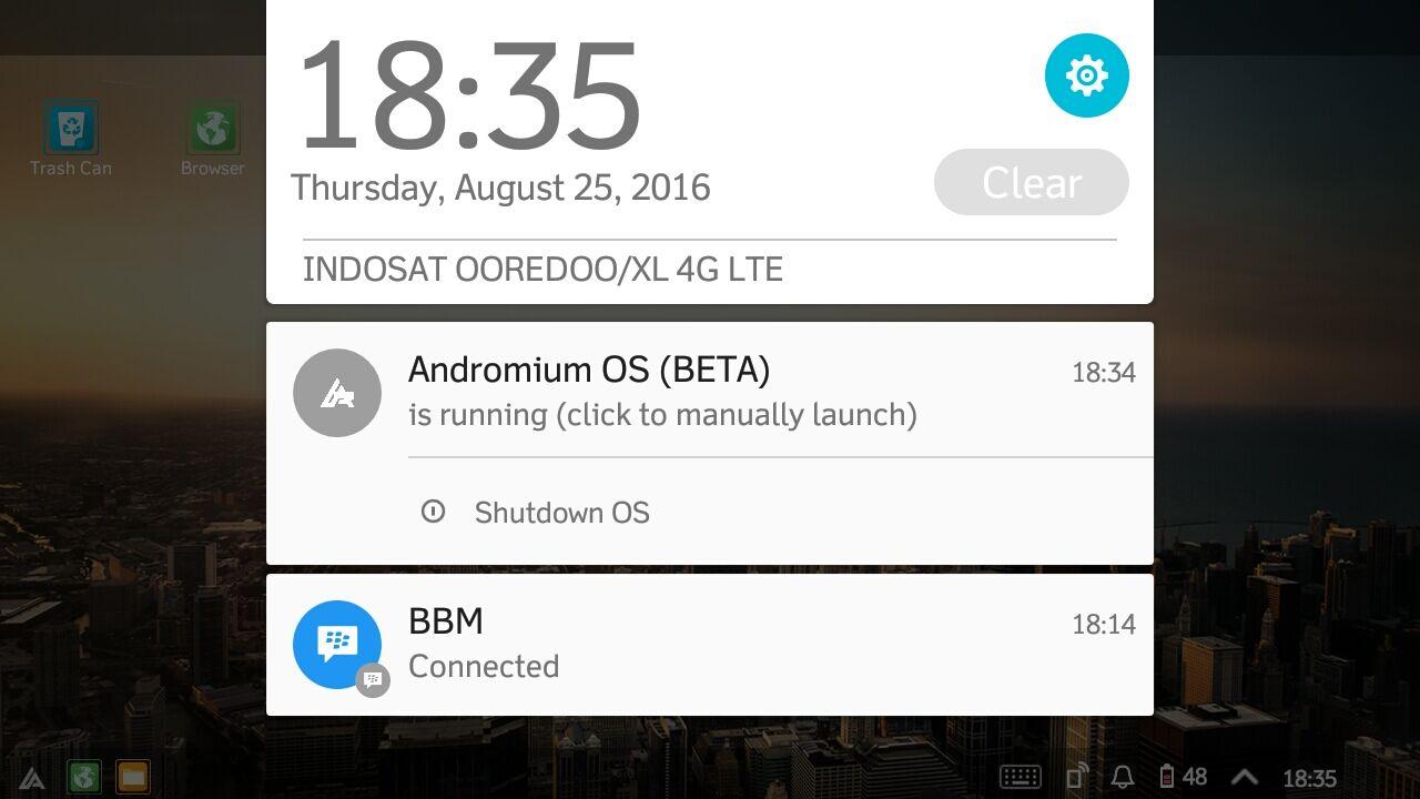 Mengubah Android Jadi Desktop 3