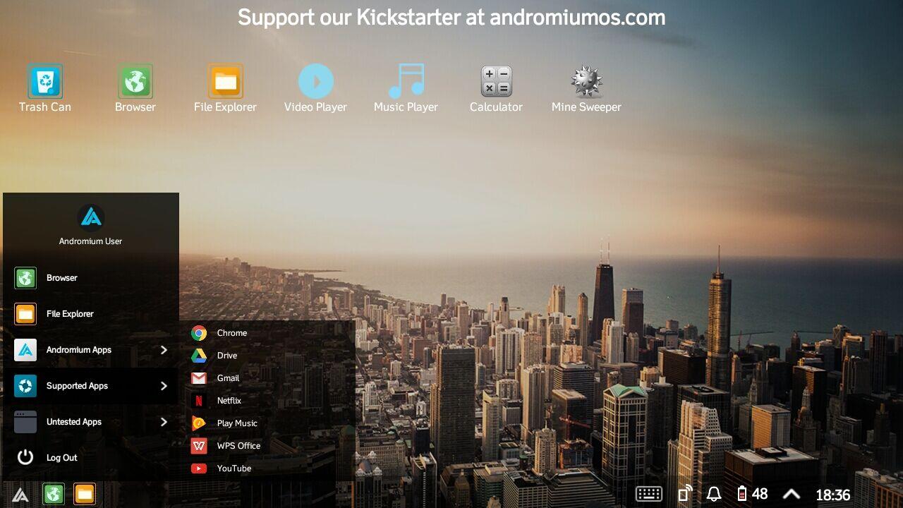 Mengubah Android Jadi Desktop 5